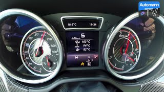 2016 Mercedes-AMG GLE 63 S - 0-253 km/h acceleration (60 fps)