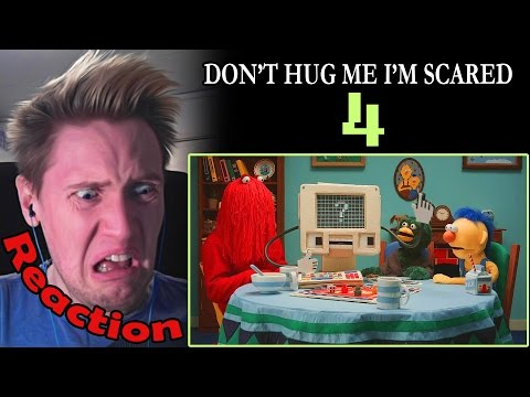 Don't Hug Me I'm Scared 4 REACTION! | THIS IS SO MESSED UP!!! |