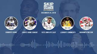 UNDISPUTED Audio Podcast (12.24.18) with Skip Bayless, Shannon Sharpe & Jenny Taft | UNDISPUTED