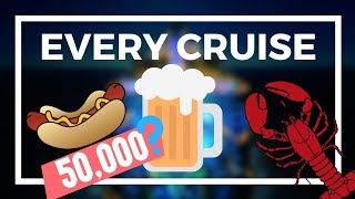 The INSANE amount of food a cruise ship needs for a week (Symphony of the Seas)