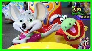 Chuck E Cheese Family Fun Indoor Games for Children !