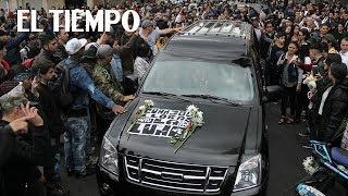 Así fue el entierro de 'Samurai, El Poeta'   EL TIEMPO