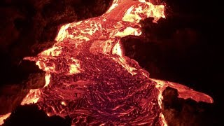 Epic lava tour gets visitors up close and personal with active lava flows