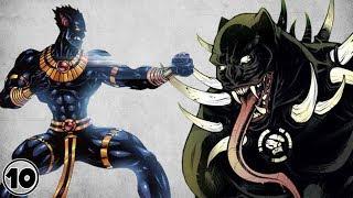 Top 10 Alternate Versions of Black Panther