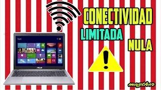 Como Quitar La Conectividad Limitada O Nula (Sin acceso a internet)