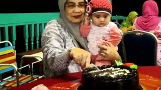 Airis Sofeah sambut harijadi Nyaie ke-60 di Port Klang.
