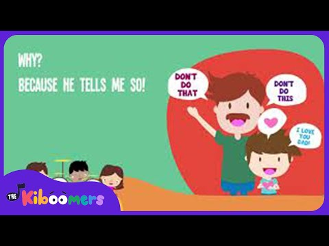 Sometimes Dad Says Song for Kids Father s Day Songs for Children The Kiboomers