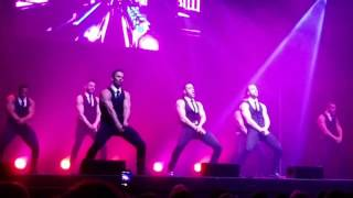 Chippendales at Wellmont Theatre, Montclair NJ 2/11/17
