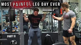 """Another """"Most PAINFUL Leg Day Ever"""" 