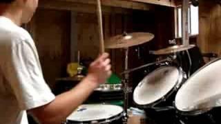 Drum Lesson: 7/8 over 4/4 polyrhythm
