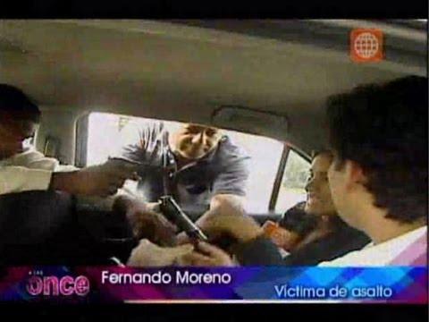 A las Once Taxi malogrado nueva modalidad de asalto en Miraflores 11 07 12
