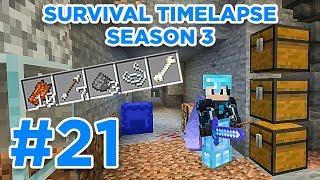 BIG MOB FARM! | Minecraft Survival Timelapse Season 3 Episode 21 | GD Venus |