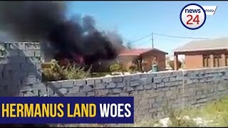 WATCH: A tumultuous day in Hermanus as violence breaks out over land