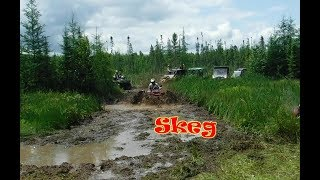 Ripping up the Skeg Ignace ATV SXS Mud Run