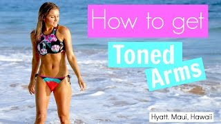 How To Get Toned Arms - Workout | Rebecca Louise