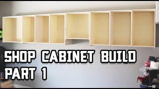 Ultimate Shop Cabinet Build // Part 1