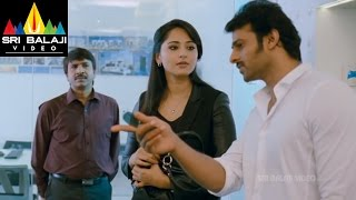 Mirchi Movie Love Scene Between Anushka & Prabhas | Prabhas, Anushka, Richa | Sri Balaji Video