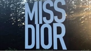 Inside the MISS DIOR Photoshoot
