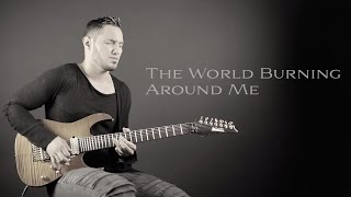ANGEL VIVALDI // World Burning Around Me  [GUITAR PLAYTHROUGH]