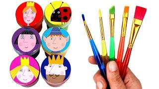 Ben and Holly Drawing & Painting Princess Holly King Thistle Ben Elf Nanny Plum Gaston Surprise Toys
