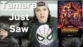 Avengers: Infinity War - Tamara Just Saw