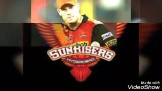 Official Sunriser Hyderabad Anthem Song 2017 IPL t20 #Go Orange Army #Champion SRH