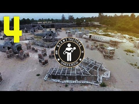 SEARCH & RESCUE MISSION 4 at SC VILLAGE with Paintball & Airsoft