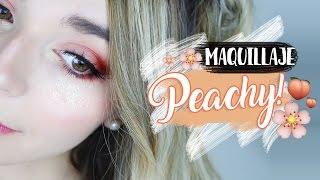 Maquillaje en tonos Durazno 🍑✨ | Cecie