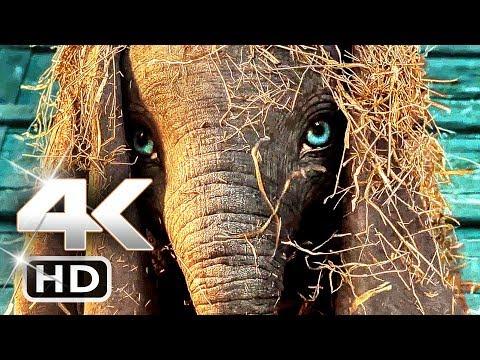 DUMBO Trailer 4k (2019) Tim Burton Disney Movie HD