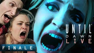 "Scared Buddies Play ""Until Dawn"" Until They Beat It - Finale"