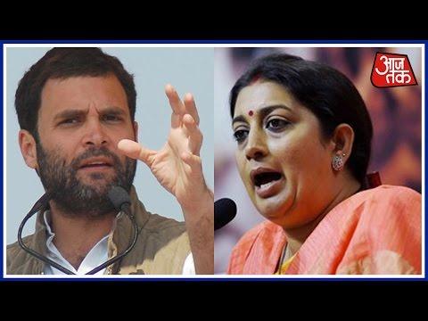 Smriti Irani Slams Rahul For 'Derogatory Remarks' Against PM