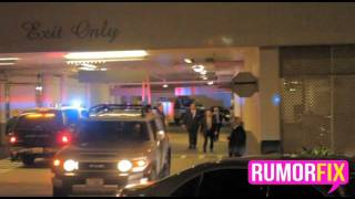Whitney Houston's Body Leaves Beverly Hilton Hotel