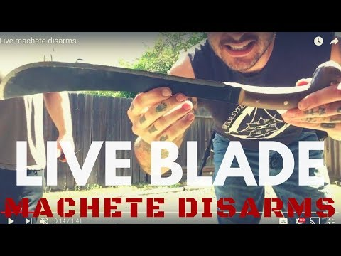 Xxx Mp4 LIVE BLADE Machete Disarms CRAZY 3gp Sex