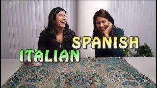 Similarities Between Spanish and Italian