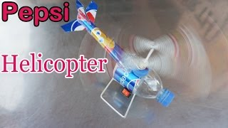 How to Make a Helicopter Pepsi Cans - Electric Helicopter DIY at Home