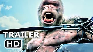 RAMPAGE Official Trailer #4 (2018) Dwayne Johnson Monster Action Movie HD