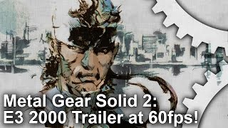 DF Retro Bonus: Metal Gear Solid 2 - E3 2000 Trailer [60fps]