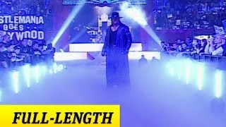 The Undertaker's WrestleMania 21 Entrance