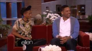 BEST OF WILL SMITH AND JADEN 2013 INTERVIEW AT ELLEN