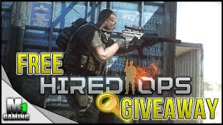 HIRED OPS - FREE DOWNLOAD - 6000 KEYS GIVEAWAY!