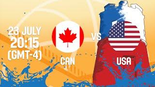 Canada v United States - Full Game - Gold Medal - 2016 FIBA Americas U18 Men's Championship