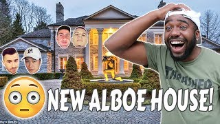 I BOUGHT MY ROOMMATE A NEW HOUSE! (TEAM ALBOE HOUSE TOUR)