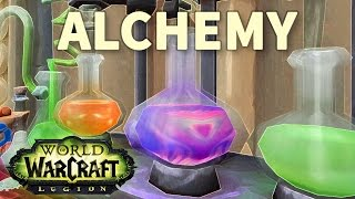 Flasking for a Favor WoW Alchemy