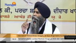 [Katha] Derby Samagam Sat Eve April 2014 - Giani Pinderpal Singh Ji (Ludhiana)
