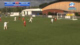 England vs Czech Republic - highlights - Danone Nations Cup 2013