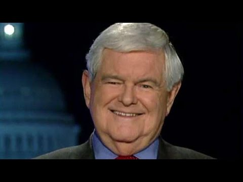 watch Newt Gingrich: Trump Should Send The Media A Message