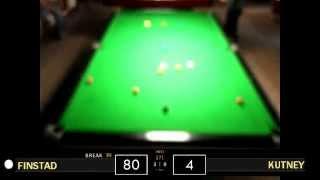 Tom Finstad - 147 Break | 2013 AQS3 Final
