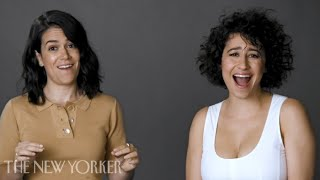 "Abbi Jacobson and Ilana Glazer of ""Broad City"" Pitch a Reality Show About Dogs"