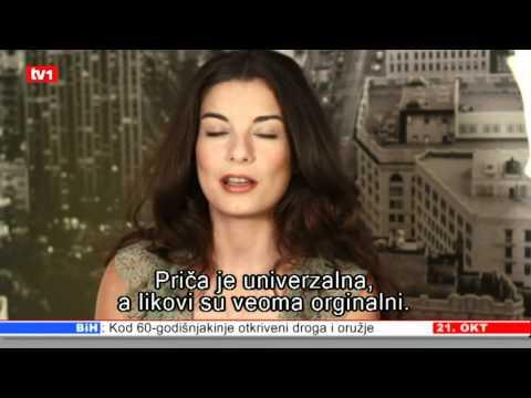 INTERVJU IREM ALTUG ZVIJEZDA PREDAJ SE SRCE DNEVNIK 21.10.2011.