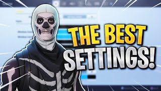 BEST Fortnite Console Settings! Build FASTER & Aim BETTER! (Fortnite Best Console Settings)